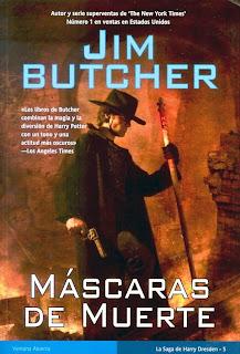 Máscaras de muerte de Jim Butcher