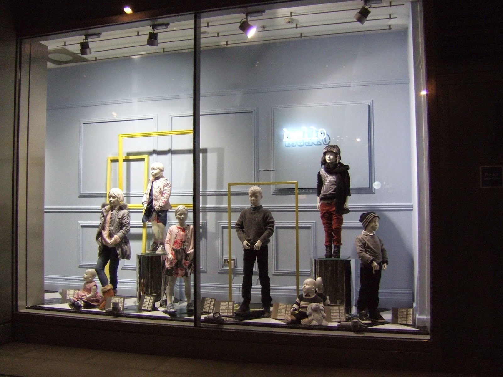 Visual Merchandising 101: Next, window display.