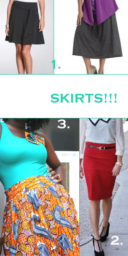 A-Line Skirt vs. Pencil Skirt - THE • PRACTICAL • DINK