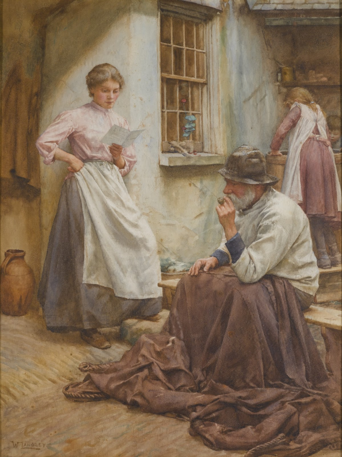 Walter Langley Pleasant news