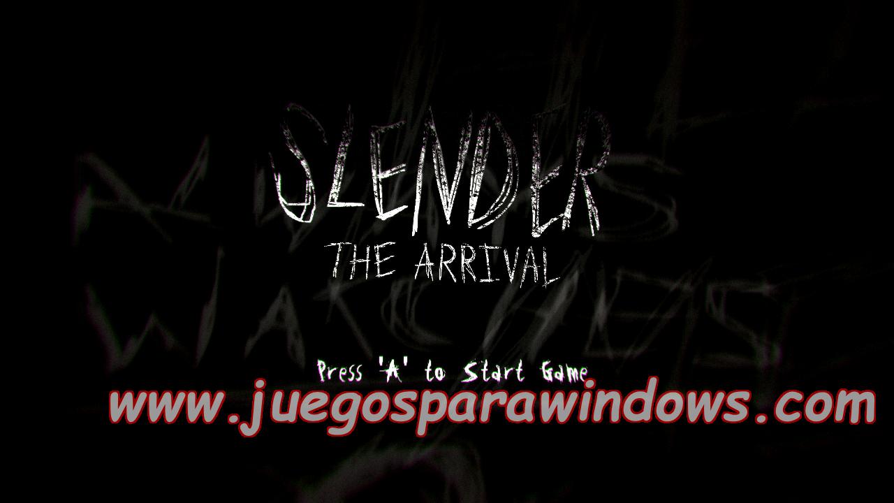 Slender The Arrival XBOX 360