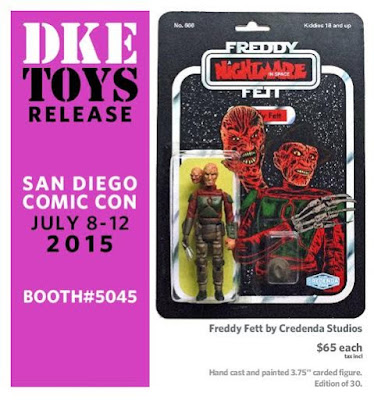 San Diego Comic-Con 2015 Exclusive Freddy Fett Bootleg Star Wars x A Nightmare on Elm Street Resin Figure by Credenda Studios