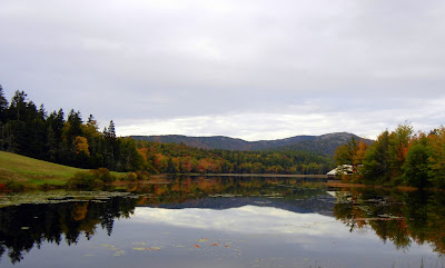 Long Pond on Mount Desert Island in Maine