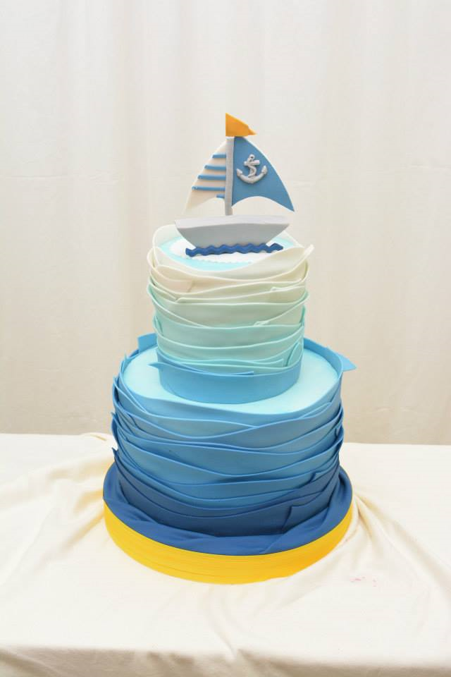 Blue Ombre Cake Images : Beautiful Ombre Cake Ideas For All Occasions - Crafty Morning