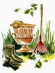 Il giardino, illustrations