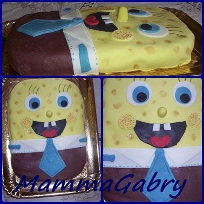 Spongebob per l 39 onomastico di giuseppe by mammagabry - Pagina a colori spongebob ...