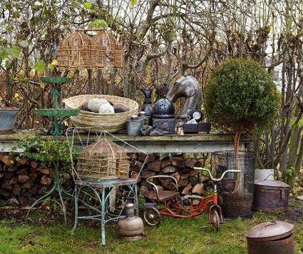 Inspiraci n decoraci n en el exterior estilo nordico for Juegos de jardin vintage