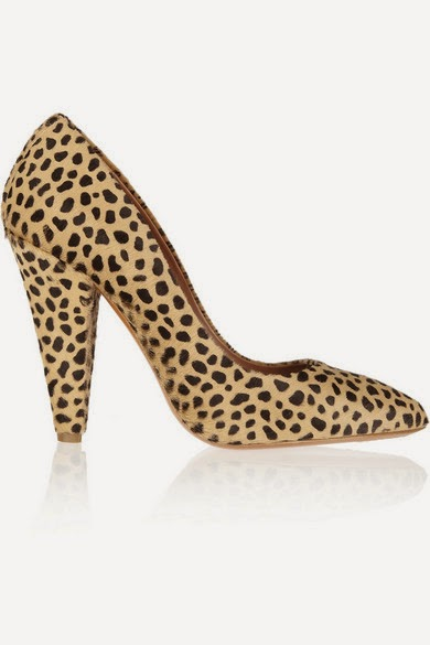 Mulberry animal-print calf hair pumps 1