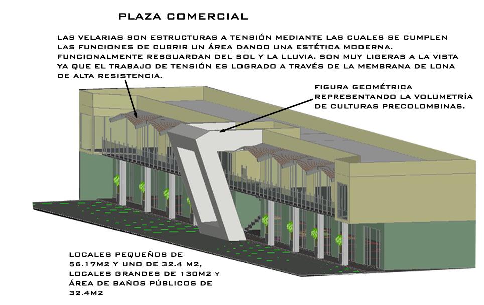 Plaza comercial g g arquitectura y dise o - Arquitectura de diseno ...