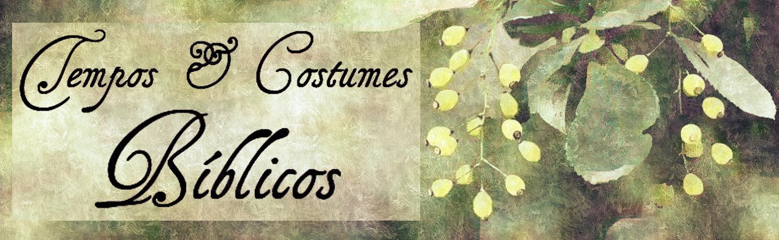 Tempos e Costumes Bíblicos
