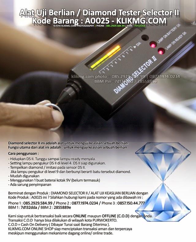 Alat Uji Berlian / Diamond Tester Selector II - Kode Barang : A0025
