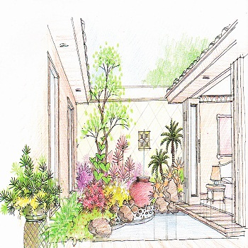 Garden Design Examples Of Garden Design And Illustration