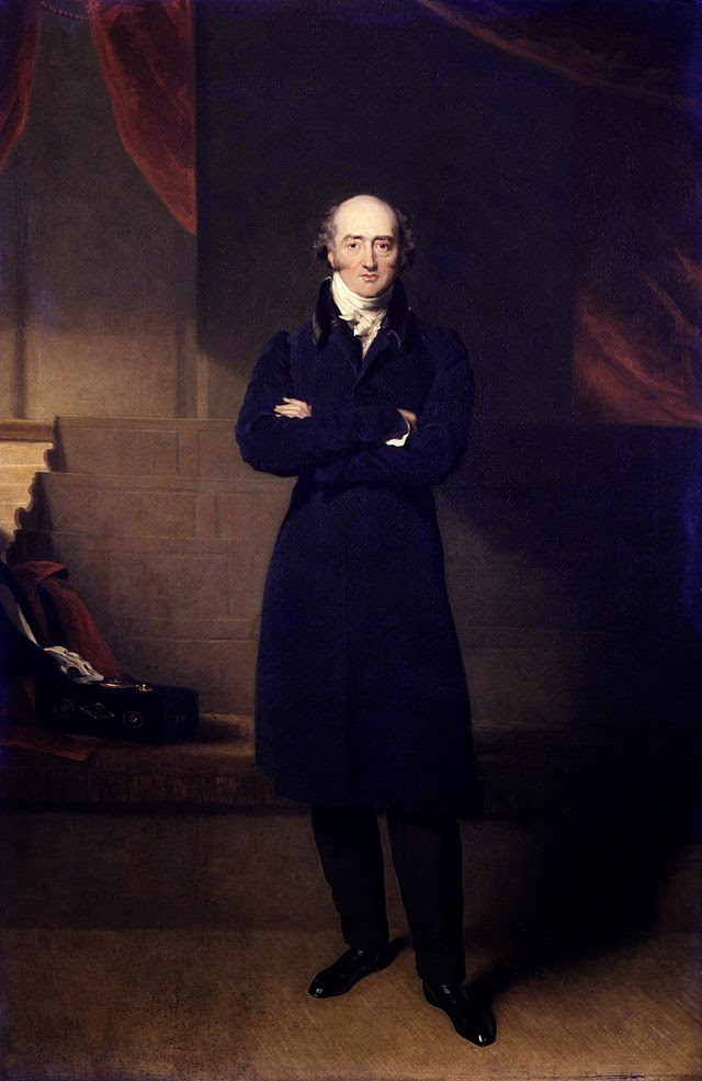 George Canning by Richard Evans, 1825