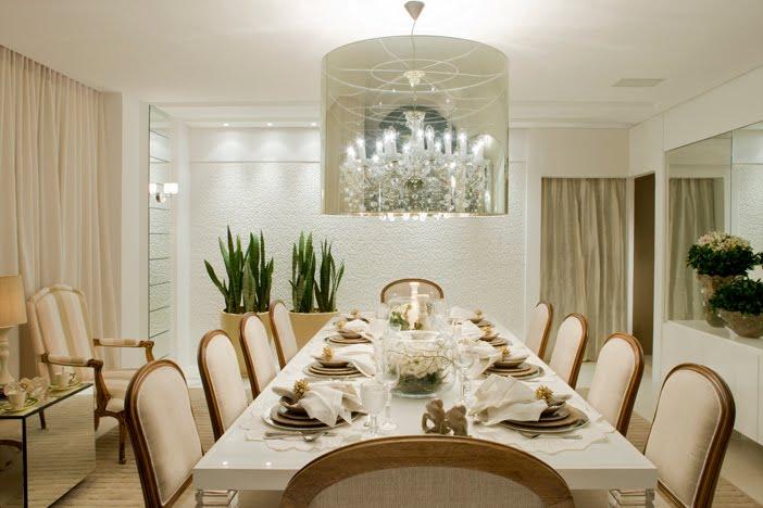 Comedores con espejos en la pared ideas para decorar for Espejos en living o comedor