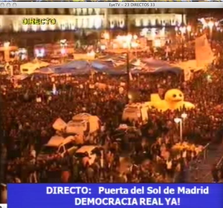 Han ganado los malos en directo for Puerta del sol hoy en directo