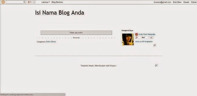 Cara Membuat Blog gambar 4