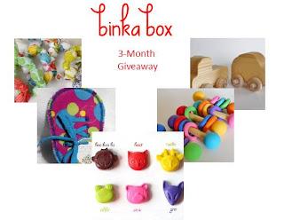Binkabox giveaway