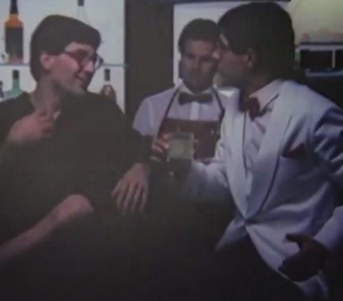 Famosa campanha da Vodka Orloff em 1985 que lançou o bordão 'Eu sou você, amanhã'.