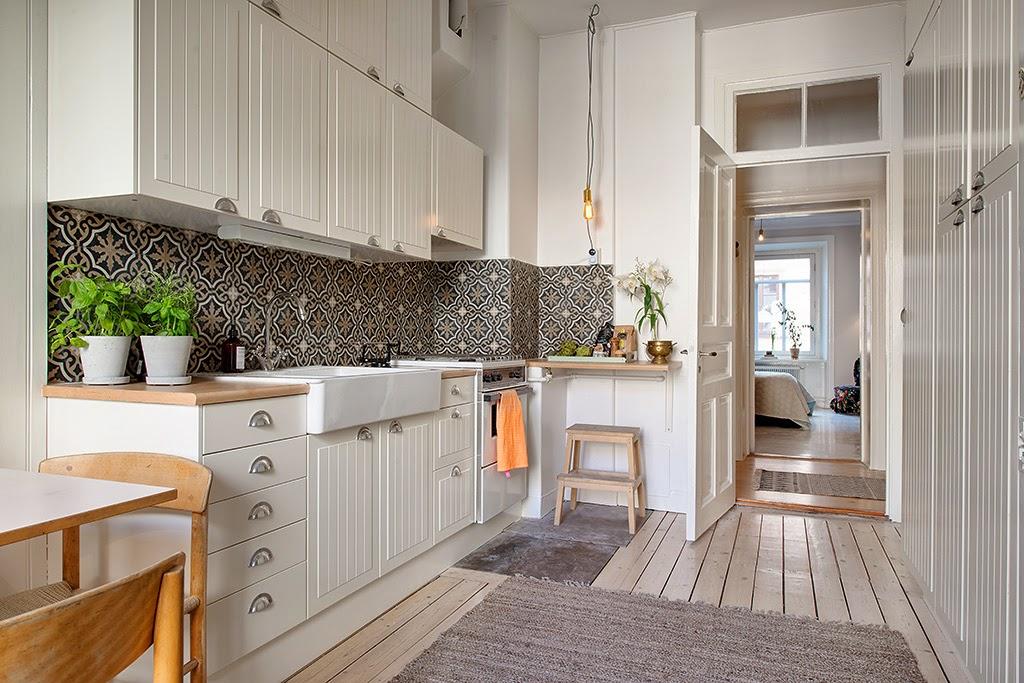 Piastrelle cucina mosaico 2