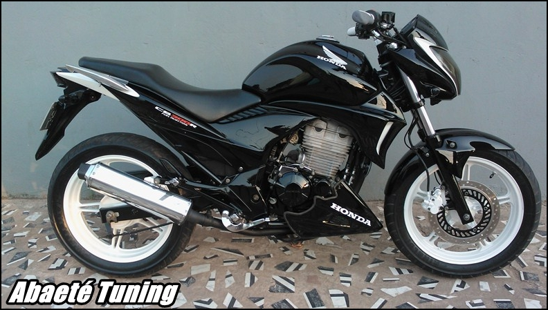 ABAETE TUNING CB 300 Details In White