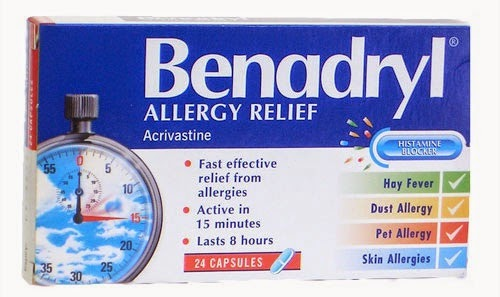 Benadryl Dosage Ideas