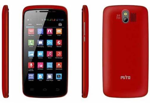 Spesifikasi dan Harga Mito Fantasy A55, Ponsel Android 800 Ribuan