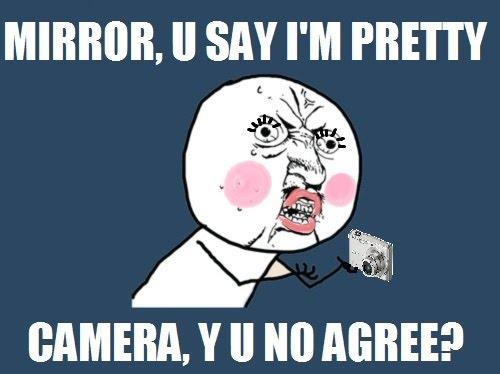 Mirror vs Camera