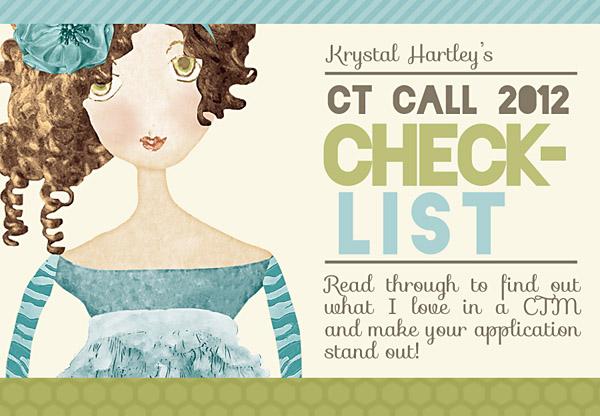 CT Call 2012 Checklist