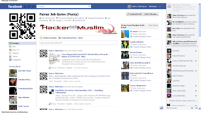 Cara Merubah Tampilan Profil Facebook Baru