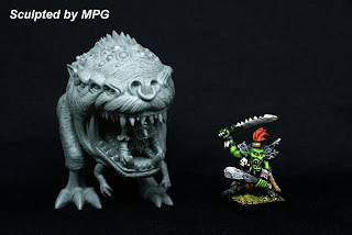 Giant Squig miniature