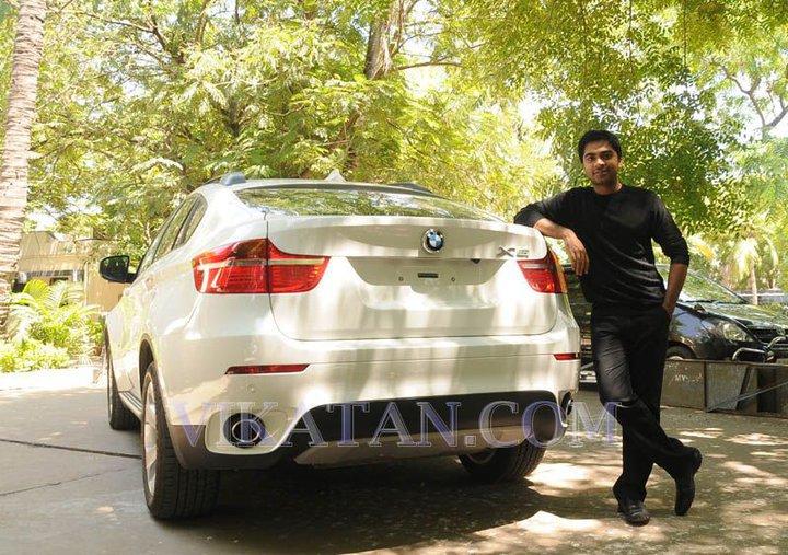 Simbu S Bmw X6 Celebrity Cars India