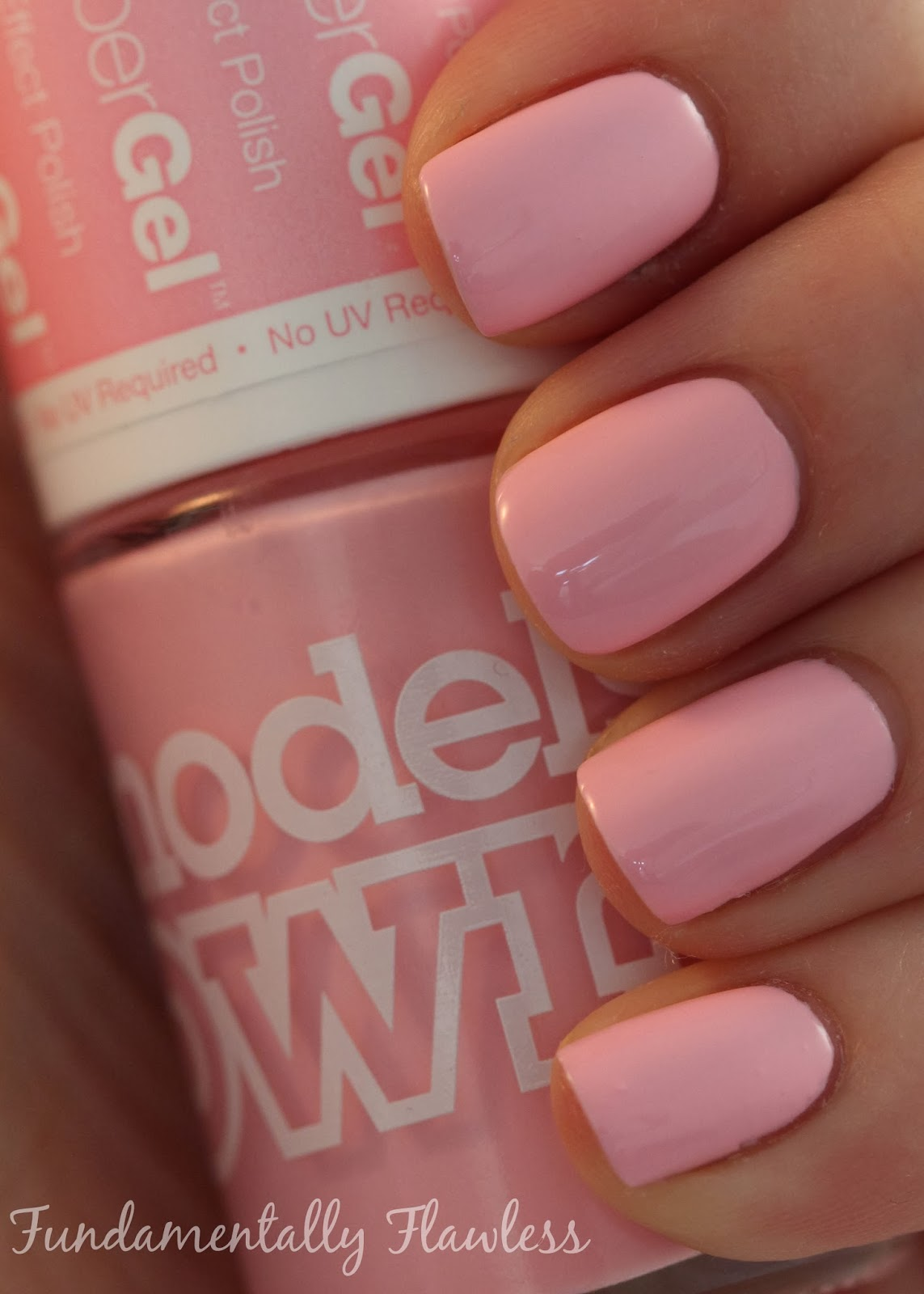 Models Own HyperGel Pink Veneer swatch