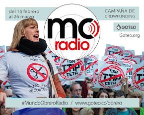 Mundo Obrero Radio: una radio para la mayoría social. Campaña de crowdfunding