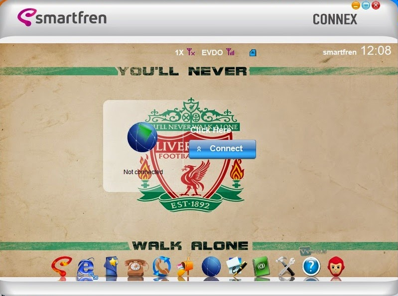 Download Skin Modem Smartfren Connex AC782 UI Edisi Liverpool F.C