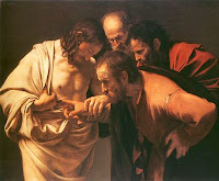Caravaggio's Disbelieving Thomas