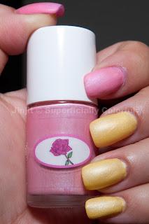 The Nail Junkie's Spring Matte Pastel - Rose