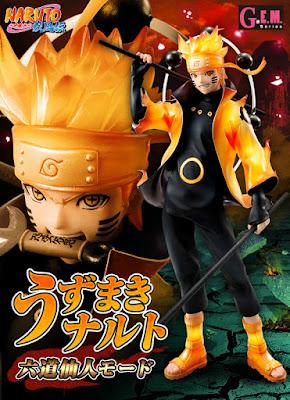 Tratto da Naruto Shippuden ecco Naruto Uzumaki - Rikudou Sennin Mode