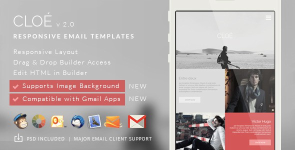 Free Responsive Email Template + Builder Access