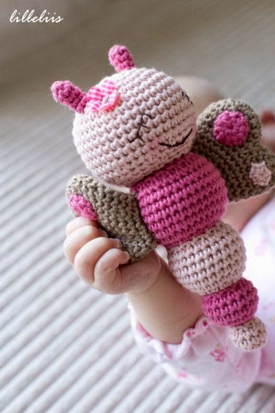 Amigurumi Butterfly Free Pattern submited images.