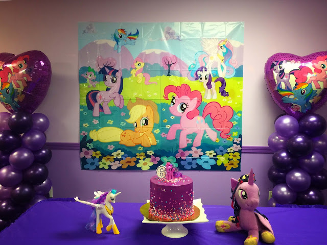 My Little Pony Birthday Party | Chichi Mary Kids Boutique