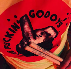 The Fuckin Godoys - Dayglo yellow FTW Tee