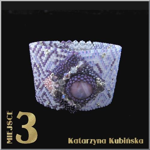 3 miejsce- konkurs magazynu Beading Polska