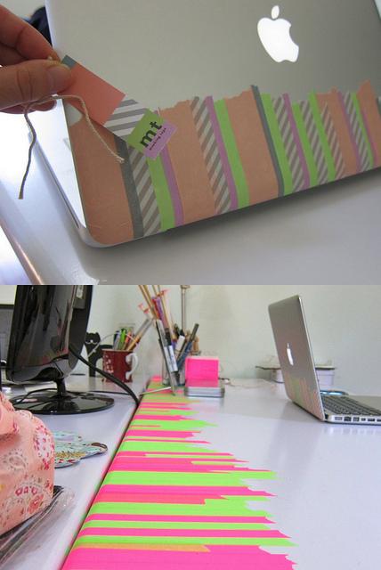 Tendre et coquette decorar con washi tape - Decorar con washi tape ...