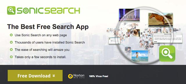 Sonic Search Ads - Virus