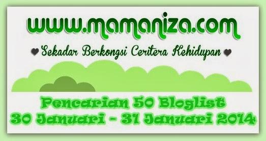 Pencarian 50 Bloglist Mamaniza.com