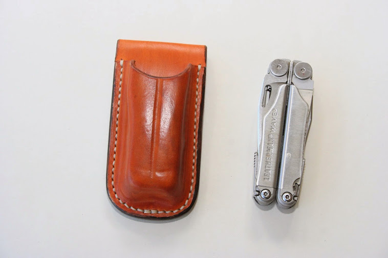 'Open' style pouch for Leatherman Wave