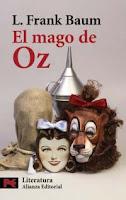 """Portada del libro """"El mago de Oz"""", de L. Frank Baum"""