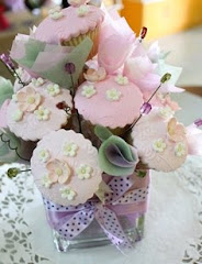 Bouquet Cup Cake