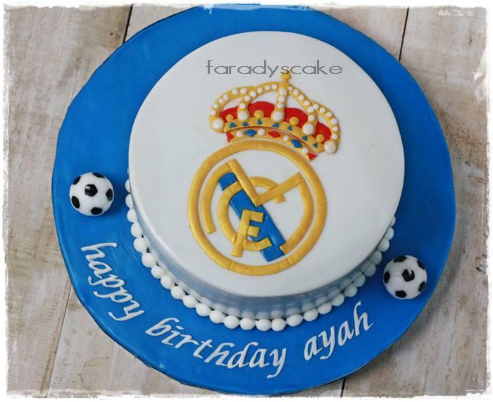 Kue jakarta birthday jakarta kue bintaro - Real madrid decorations ...