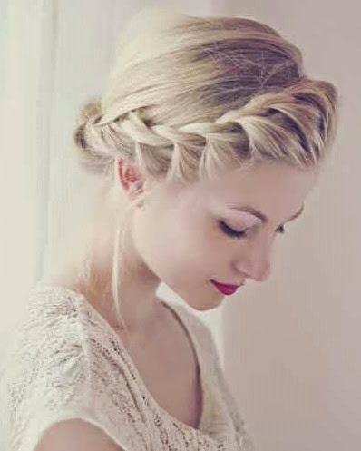#beauty 4 elegant braided updo